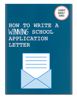 Picture of How To Write A Winning School Application Letter