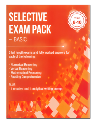 Picture of Selective Exam Pack - Basic Volume 1