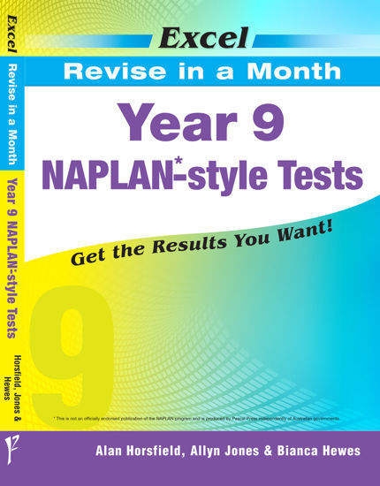 Picture of EXCEL REVISE IN A MONTH - YEAR 9 NAPLAN*-STYLE TESTS