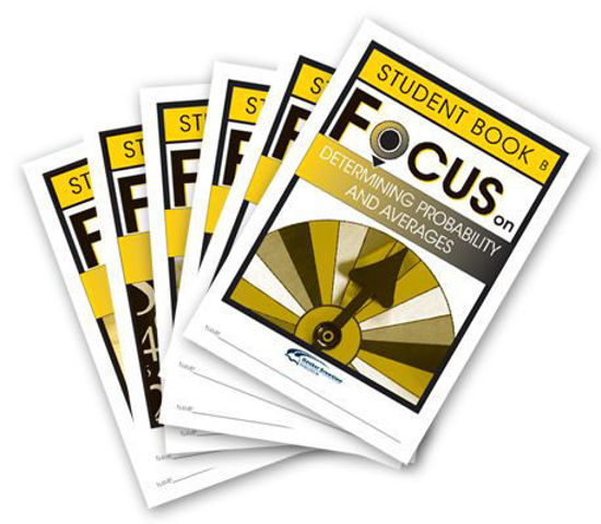 Picture of Focus on Maths Level B Student Books Set of 6