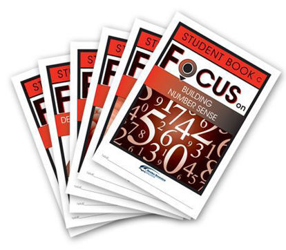 Picture of Focus on Maths Level C Student Books Set of 6