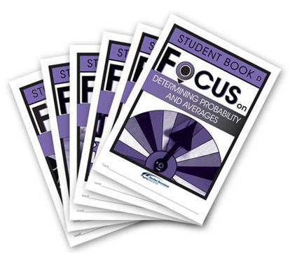 Picture of Focus on Maths Level D Student Books Set of 6