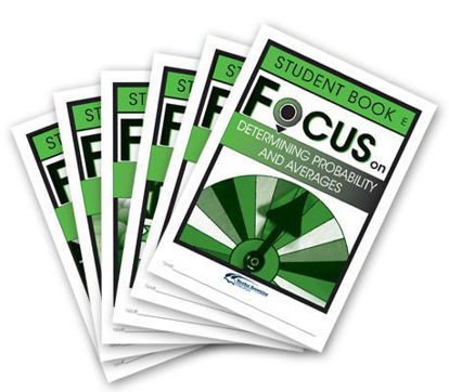 Picture of Focus on Maths Level E Student Books Set of 6