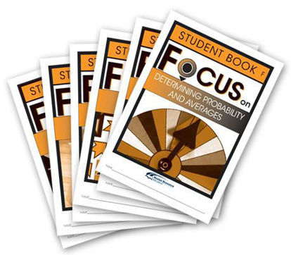Picture of Focus on Maths Level F Student Books Set of 6