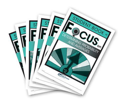 Picture of Focus on Maths Level H Student Books Set of 6