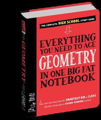 图片 Everything You Need to Ace Geometry in One Big Fat Notebook