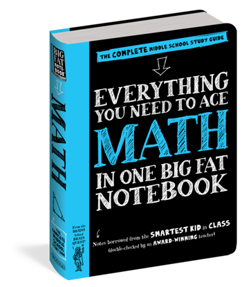 Picture of Everything You Need to Ace Maths in One Big Fat Notebook