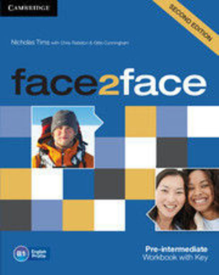 Picture of face2face Pre-intermediate Workbook with Key