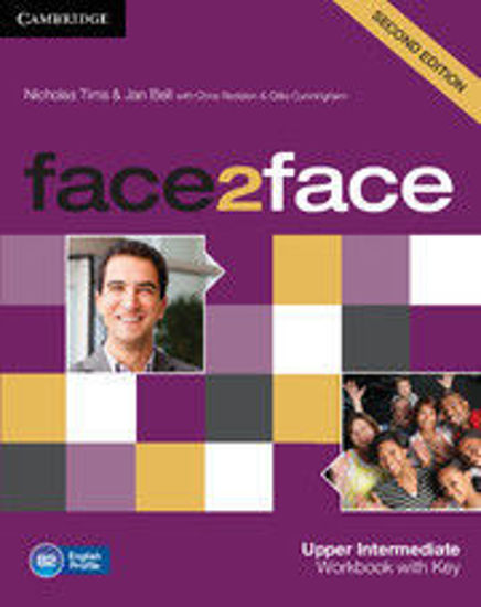 Picture of face2face Upper Intermediate Workbook with Key