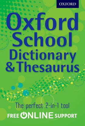 Picture of Oxford School Dictionary and Thesaurus 2012