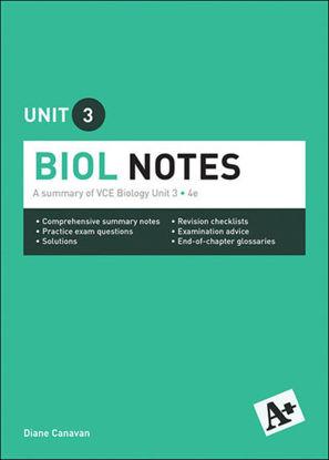 图片 A+ Biology Notes VCE Unit 3