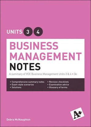 图片 A+ Business Management Notes VCE Units 3 & 4