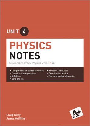 图片 A+ Physics Notes VCE Unit 4: A Summary of VCE Physics Unit 4