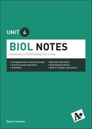 图片 A+ Biology Notes VCE Unit 4