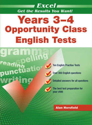 图片 EXCEL OPPORTUNITY CLASS ENGLISH TESTS YEARS 3 - 4