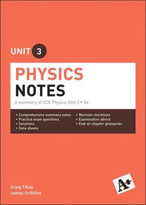 图片 A+ Physics Notes VCE Unit 3