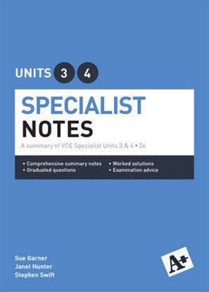 图片 A+ Specialist Mathematics Notes VCE Units 3 & 4