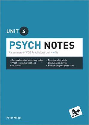 图片 A+ Psych Notes VCE Unit 4