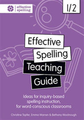 Picture of Effective Spelling Teaching Guide 1/2