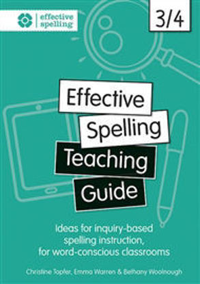 Picture of Effective Spelling Teaching Guide 3/4