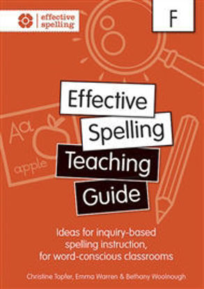 Picture of Effective Spelling Teaching Guide Foundation