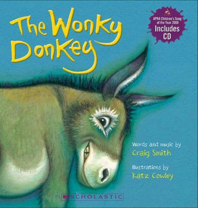 图片 Wonky Donkey Board Book (with CD)