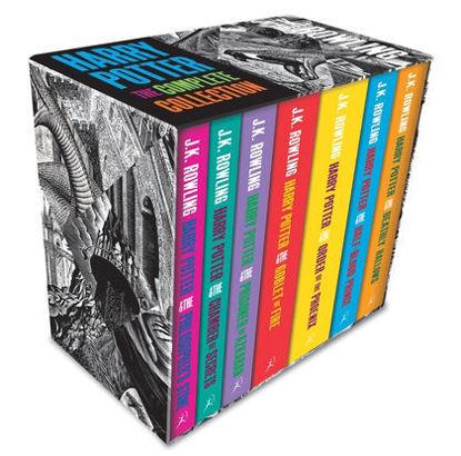 图片 Harry Potter Boxed Set: The Complete Collection (Adult Paperback)