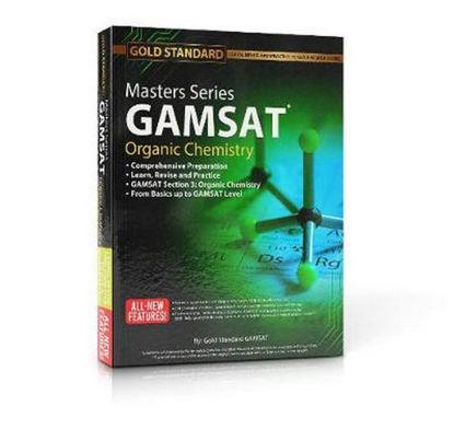 图片 Masters Series GAMSAT Organic Chemistry Preparation GAMSAT Organic Chemistry Preparation: Learn, Revise and Practice