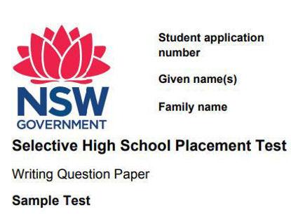 图片 WRITING TEST SAMPLE TESTS: NSW SELECTIVE SCHOOL TEST FOR 2022