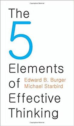 图片 5 Elements of Effective Thinking