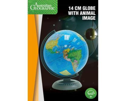图片 14CM STANDARD GLOBE AUST GEOGRAPHIC