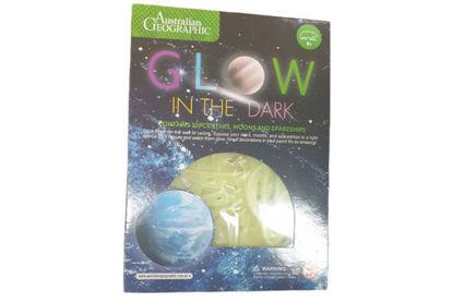 图片 Aus Geo Solar System Glow In Dark  (12 in Display )