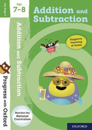 图片 Progress with Oxford: Addition and Subtraction Age 7-8