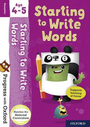 图片 Progress with Oxford Starting to Write Words Age 4-5