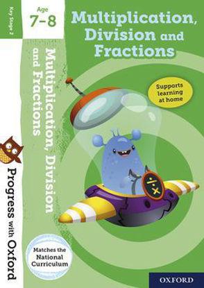 图片 Progress with Oxford: Multiplication, Division and Fractions Age 7-8