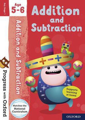 图片 Progress with Oxford Addition and Subtraction Age 5-6