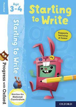 图片 Progress with Oxford Starting to Write Age 3-4