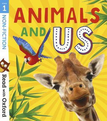 图片 Read with Oxford: Stage 1. Non-fiction: Animals and Us