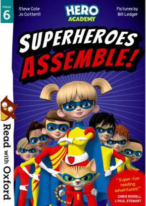 图片 Read with Oxford: Stage 6. Hero Academy: Superheroes Assemble!