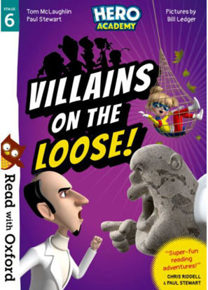 图片 Read with Oxford: Stage 6. Hero Academy: Villains on the Loose!