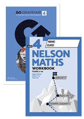 图片 Go Grammar and Nelson Maths 4 Student Workbook Pack