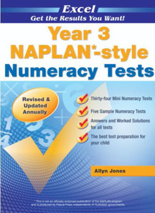 Picture of Excel NAPLAN*-style Numeracy Tests Year 3