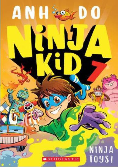 图片 Ninja Kid #7: Ninja Toys!