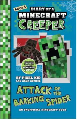 图片 Diary of a Minecraft Creeper #3: Attack of the Barking Spider