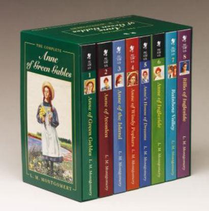 图片 Anne of Green Gables, Complete 8-Book Box Set
