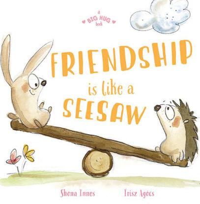 图片 A Big Hug Book: Friendship is Like a Seesaw