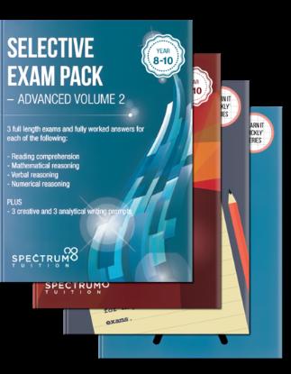 图片 Victorian Selective School Exam Pack for Year 9: The Ultimate Selective Schools Preparation Bundle