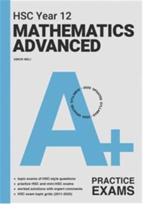 图片 A+ HSC Year 12 Mathematics Advanced Practice Exams