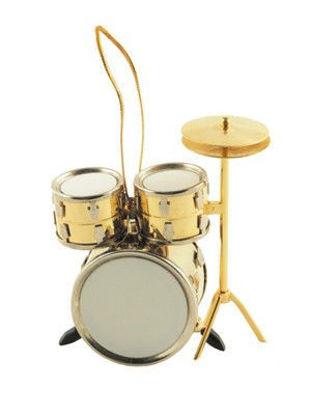 图片 Drum Set Ornament - Gold