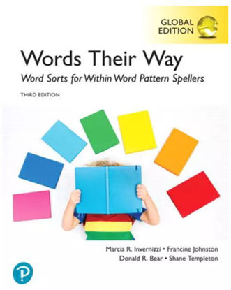 Picture of Words Their Way: Word Sorts for Within Word Pattern Spellers, Global Edition